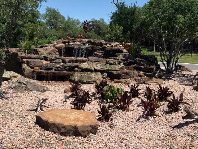 San Antonio hardscape by C & K Lawn Services