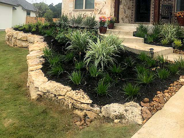 San Antonio landscaping by C & K Lawn Services